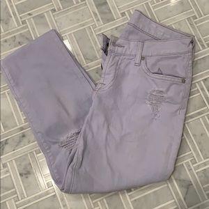 Seven Light Purple Jeans